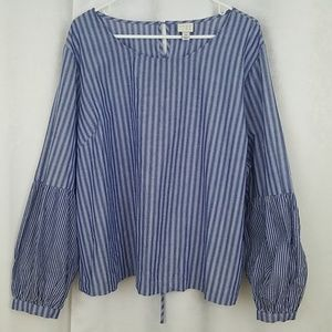 A New Day Bell Sleeved Top Size 3X